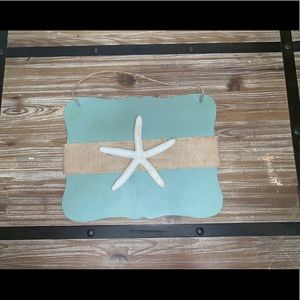 Accents - NEW** Three beach themed hanging signs